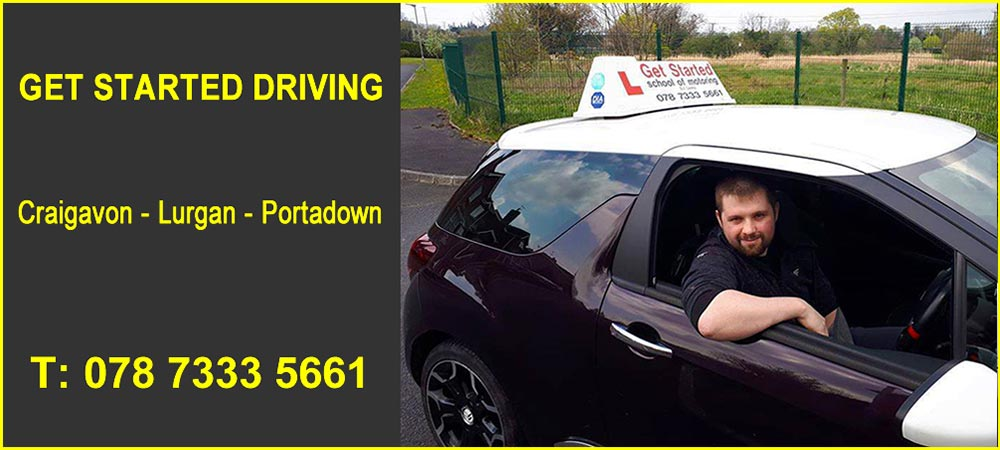 Driving Lessons in Portadown Banner